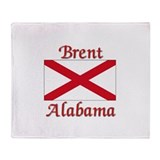 Brent Alabama Throw Blanket