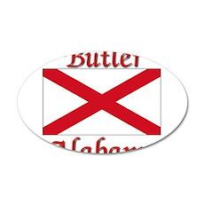 Butler Alabama 35x21 Oval Wall Decal
