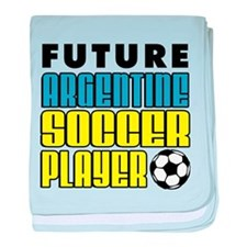 Future Argentine Soccer Player baby blanket
