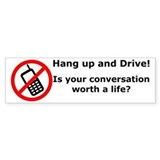 Worth a life? Bumper Sticker