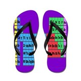 periodic table vertical purple.PNG Flip Flops