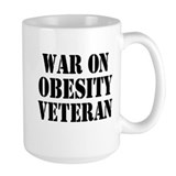War On Obesity Veteran Mug