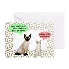 Funny Cats Christmas Cards