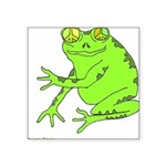 peaspeace10x10.png Square Sticker 3