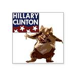 americaforclintonbutton.png Square Sticker 3
