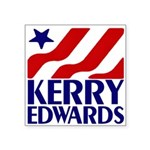 """Kerry-Edwards 2004 Square Sticker 3"""" x 3&quot"""