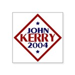 "Kerry-Edwards 2004 Square Sticker 3"" x 3&quot"