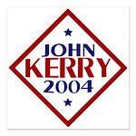 "Kerry-Edwards 2004 Square Car Magnet 3"" x 3&q"