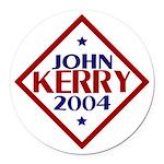 Kerry-Edwards 2004 Round Car Magnet