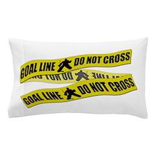 Hockey Crime Tape Pillow Case