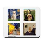 Famous Goldens (cl) Mousepad