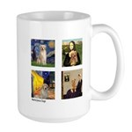 Famous Goldens (cl) Large Mug