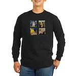 Famous Goldens (cl) Long Sleeve Dark T-Shirt