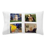 Famous Goldens (cl) Pillow Case