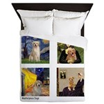 Famous Goldens (cl) Queen Duvet