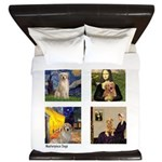 Famous Goldens (cl) King Duvet