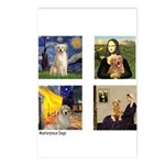 Famous Goldens (cl) Postcards (Package of 8)