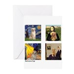 Famous Goldens (cl) Greeting Cards (Pk of 20)