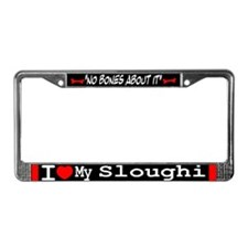 NB_Sloughi License Plate Frame