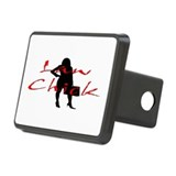 Law Chick Rectangular Hitch Cover