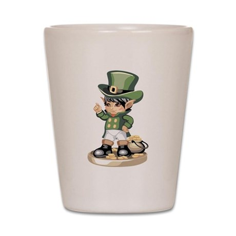 Saint Patrick's Day Shot Glass