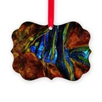 Angel Fish Picture Ornament