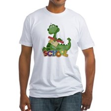Cute Green School Dragon Shirt