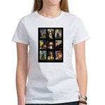 Famous Art Cocker Comp Women's T-Shirt