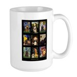 Famous Art Cocker Comp Large Mug