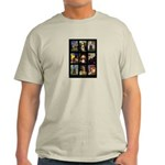 Famous Art Cocker Comp Light T-Shirt