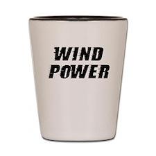 Wind Power Shot Glass