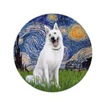 Starry-White German Shepherd 3.5