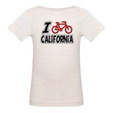 I Love Cycling California Tee