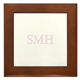 SMH (SHAKING MY HEAD) PINK Framed Tile