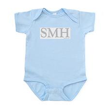 SMH (SHAKING MY HEAD) GREY Infant Creeper