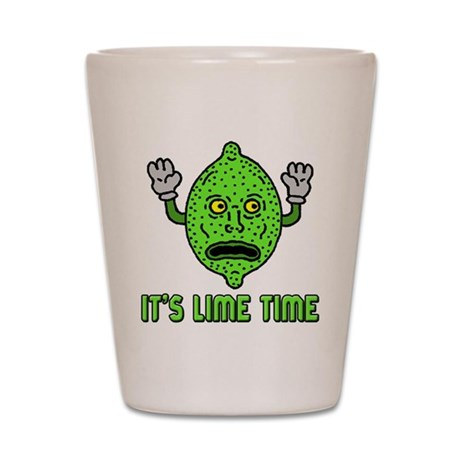 It's Lime Time (shot glass)