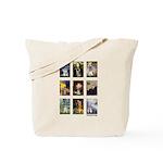 FamousArtSchnauzers (clr) Tote Bag