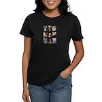 FamousArtSchnauzers (clr) Women's Dark T-Shirt