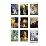 FamousArtSchnauzers (clr) Postcards (Package of 8)