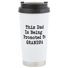 Grandpa Promotion Ceramic Travel Mug