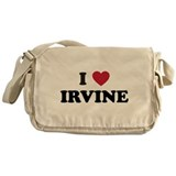 I Love Irvine Messenger Bag