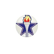Star and Torch Mini Button (100 pack)