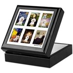 Famous Art Bichon (clr) Keepsake Box