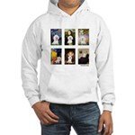 Famous Art Bichon (clr) Hooded Sweatshirt