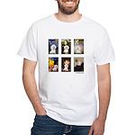 Famous Art Bichon (clr) White T-Shirt