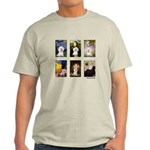 Famous Art Bichon (clr) Light T-Shirt