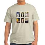 Famous Art Bichon (clr) Light T-Shirt