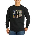 Famous Art Bichon (clr) Long Sleeve Dark T-Shirt