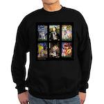 FamourArtSchnauzers 1 Sweatshirt (dark)