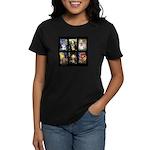 FamourArtSchnauzers 1 Women's Dark T-Shirt
